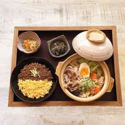 from our daily lunch - Udon Hot Pot