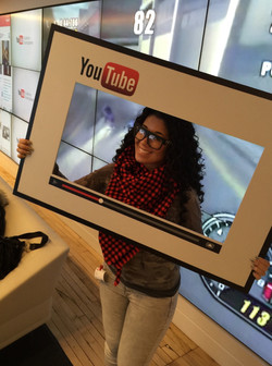 Visiting YouTube offices NYC