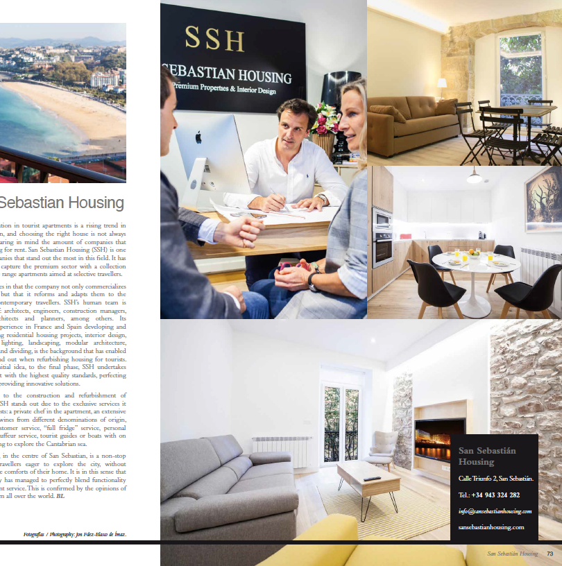 Articulo San Sebastian Housing - Basque Luxury Magazine 2018