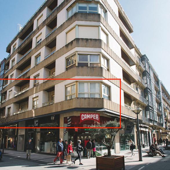 Segregación de 2 viviendas en la C/San Marcial para uso turístico (Donostia -San Sebastián)