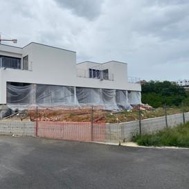 En desarrollo 2 villas de obra nueva en San Sebastian.
