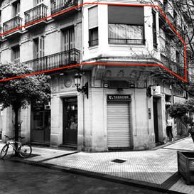 En Construcción promoción de 3 viviendas de lujo en la Calle Loyola (San Sebastián)