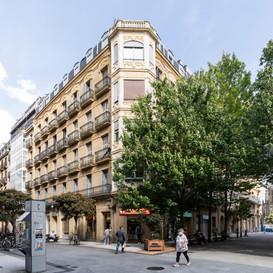 Finalizada la ejecuccion de 3 viviendas de lujo en la Calle  Loyola en San Sebastián