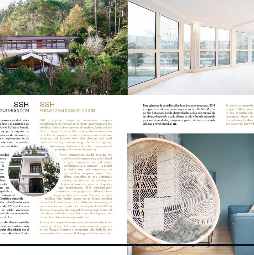 Articulo Homes by SSH - Basque Luxury Magazine 2019