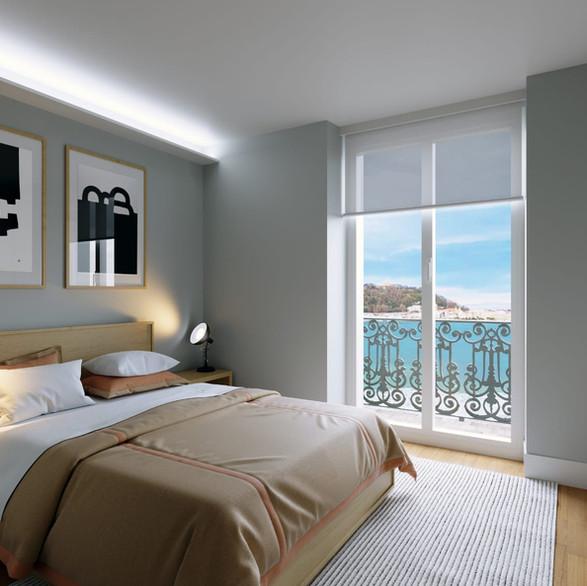 Construcción de 4 viviendas de lujo en Miranconcha ( Donostia-San Sebastián)