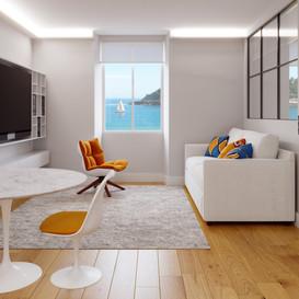 Construcción de 4 viviendas de lujo en Miraconcha (Donostia-San Sebastián)