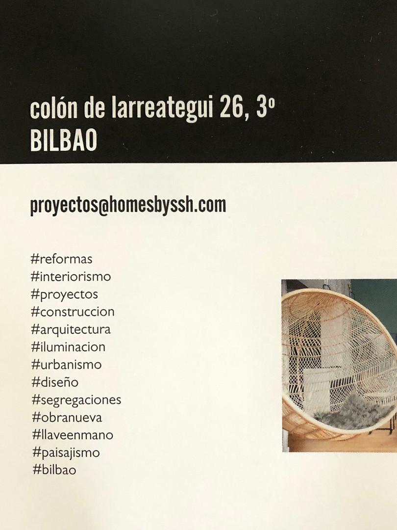Oficina SSH-Bilbao C/ Colón de Larreátegui, 26; 3º planta  (Bilbao)