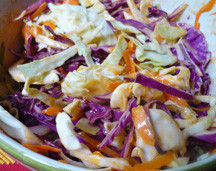 Buffalo Blue Cheese Slaw