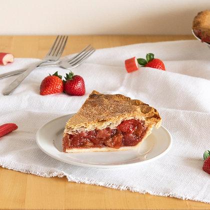 Double Crust Strawberry Rhubarb