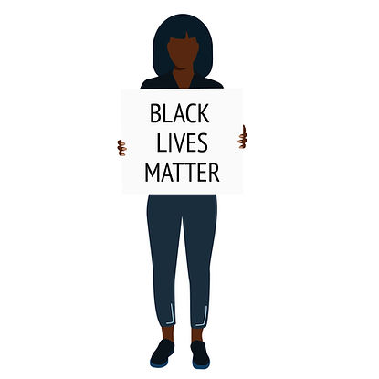 Black Woman - BLM Sign.jpg