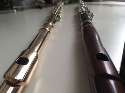 my two beloved flutes