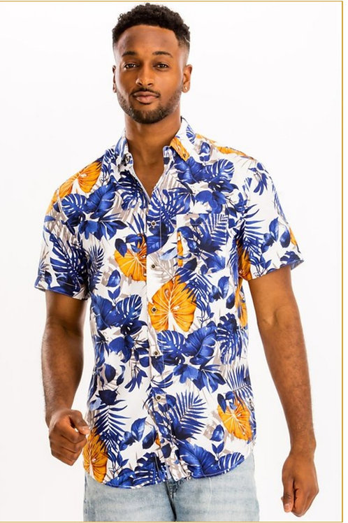 Print Hawaiian shirt