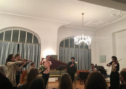 Yesterday was really exciting! A concert