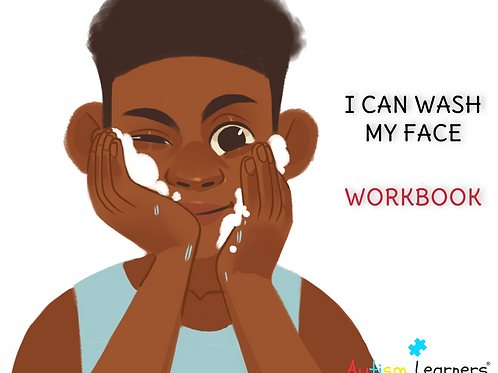 I CAN WASH MY FACE | PRINTABLE WORKBOOK