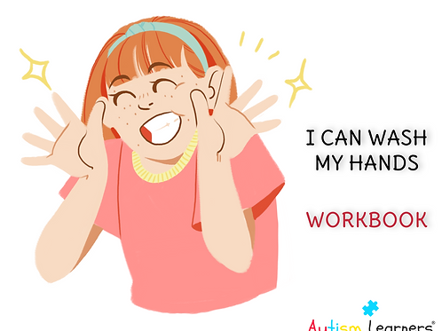I CAN WASH MY HANDS | PRINTABLE WORKBOOK