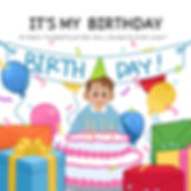 An adaptive functioning book series for children and special needs individuals (e.g. autism and other related disorders) focused on social skills during a birthday party