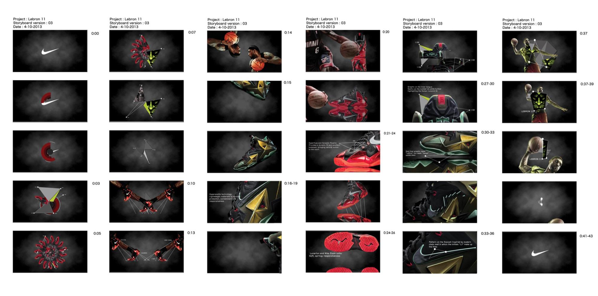 Motion Graphics Storyboard