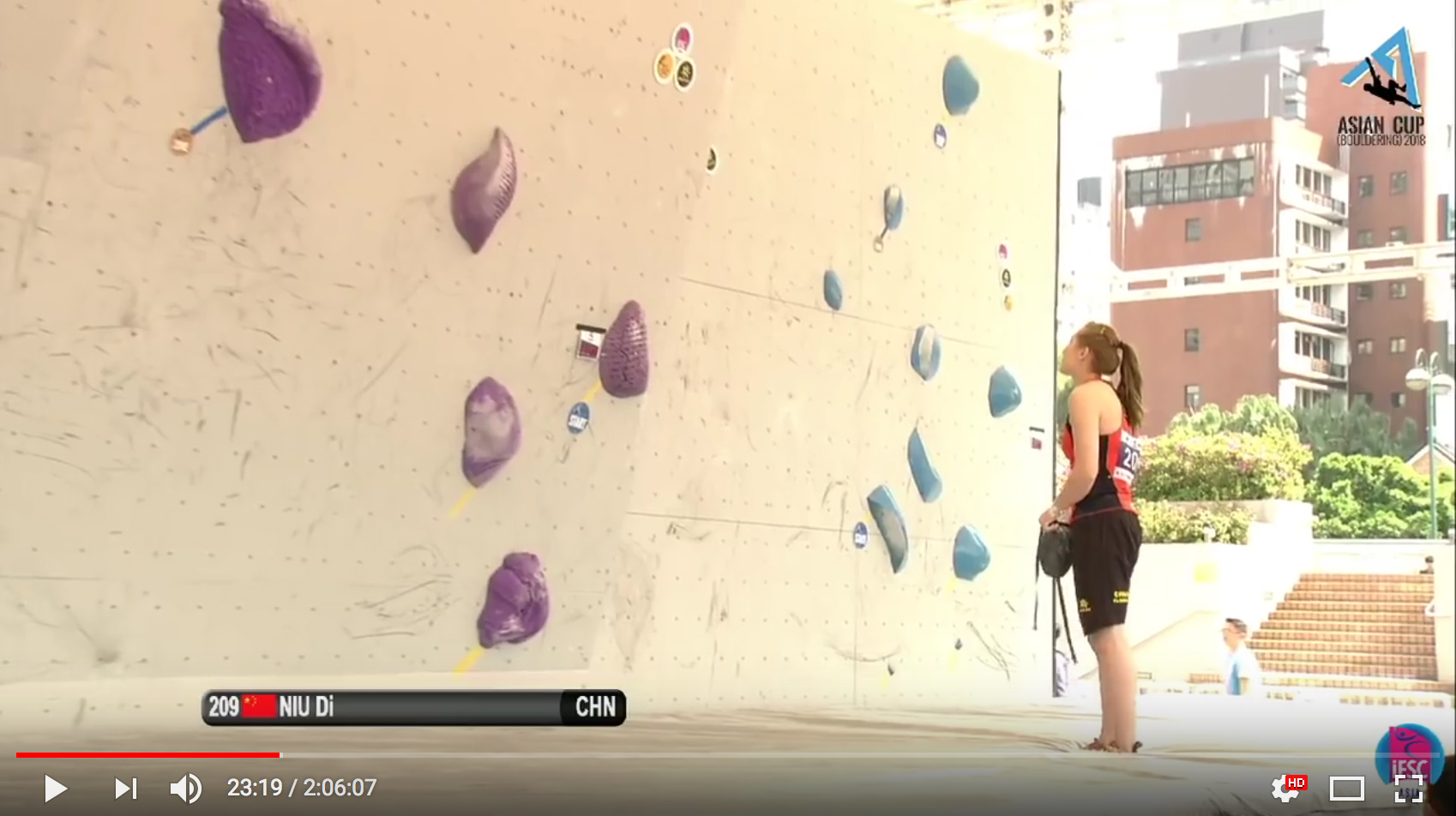 Asian Cup Bouldering 2018