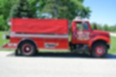 1731 Second Due Tender 1998 International 4900 2000 Gallons 