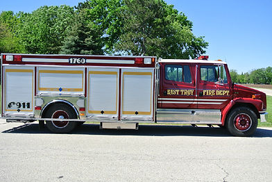 1760 Squad 1997 Freight Liner FL 70 Equipment Truck 