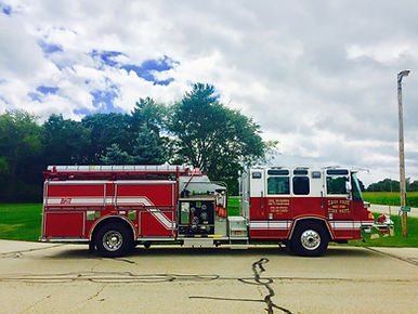 1720Crash Rescue Engine 1998Pierce Quantum 750 Gallons of Water 1500 GPMPump Heavy Rescue for Automobile Accidents