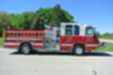 1724 MABAS/Second Due Engine 1998 Pierce Quantum 500 Gallons of Water 430 hp Series 60 Detroit Diesel 1500 GPM Pump ​