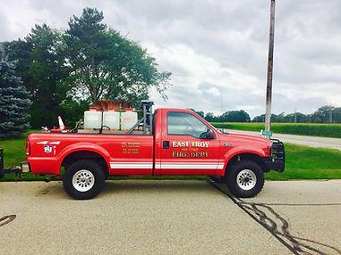1740 Grass Truck Grass Truck 250 Gallons of Water Portable Pump 