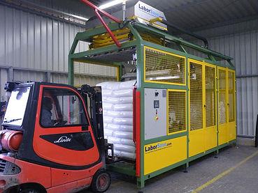 LaborSave Otomatik Hammadde Torbası Açma Boşaltma Sistemi