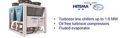 Hitema Turbocor Kompresörlü Chiller
