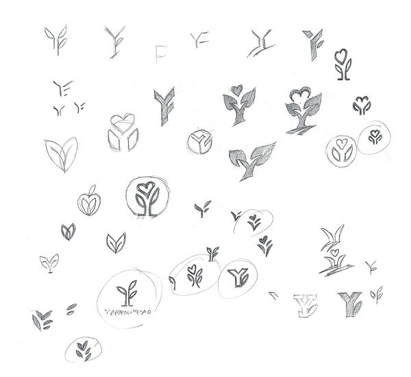 YH Logo Sketches 2