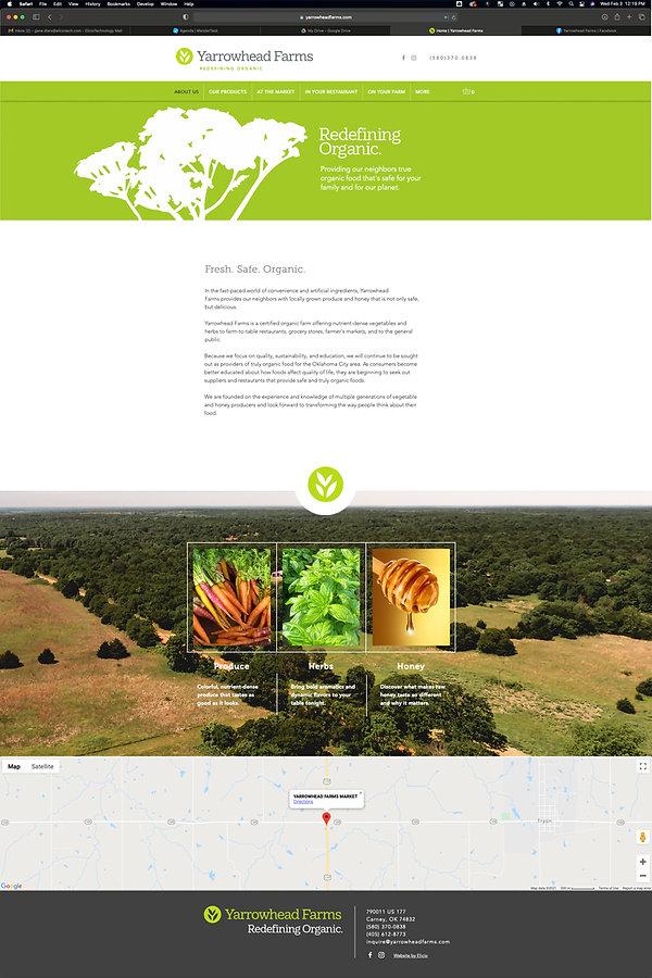 YH Website Sample