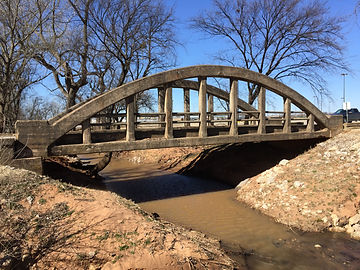 Pottawatomie County Rainbow Bridge Before