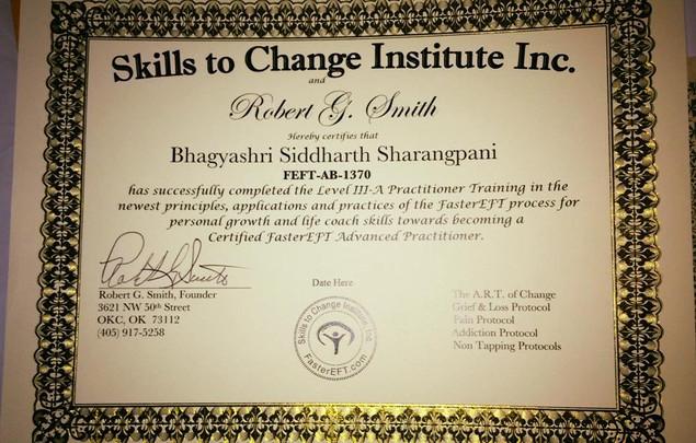 Certified FasterEFT Level III