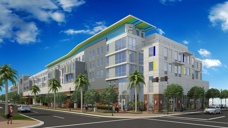 Aloft  Hotel  Delray and Samar Condominium