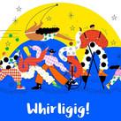 Whirligig ! Festival brochure -slient disco