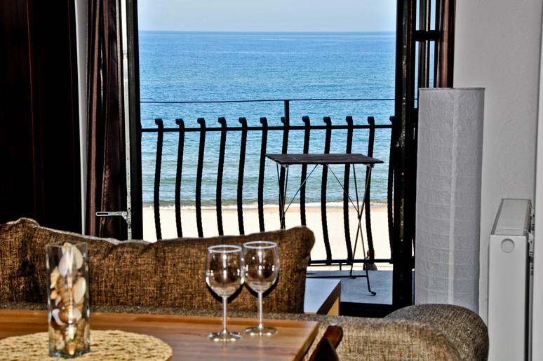 apartament z widokiem na morze