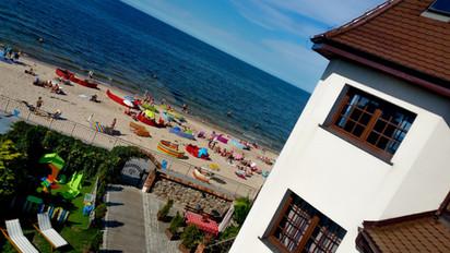 hotel z widokiem na morze