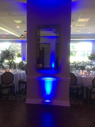 Blue Uplights!