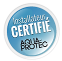 Nous sommes installateur certifié pour les produits Aqua-protect