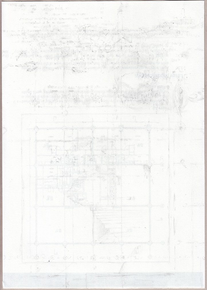 Robert Luzar, Grenfell, Traced Papers, 2020