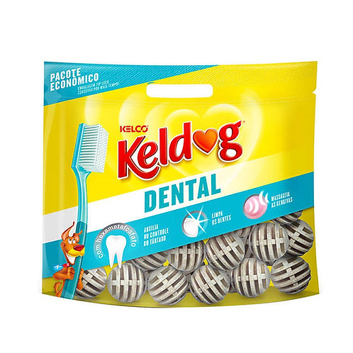Osso Dental Bolinha Keldog 500g