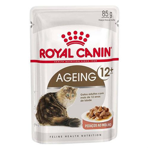 Alimento Úmido Sachê Royal Canin Ageing 12+ Gatos Adultos 85g