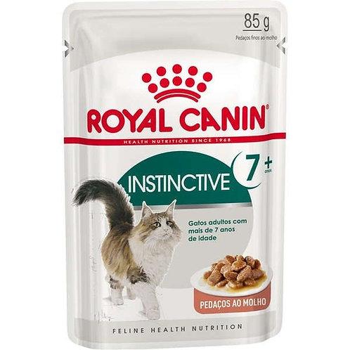 Ração Royal Canin Sachê Para Gatos Instinctive 7+ 85g
