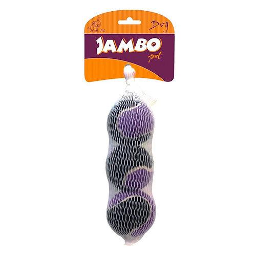 Brinquedo Bola Tênis Sound Mini Jambo Pet