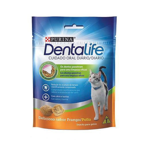 Petisco DentaLife Gatos Adultos 40g