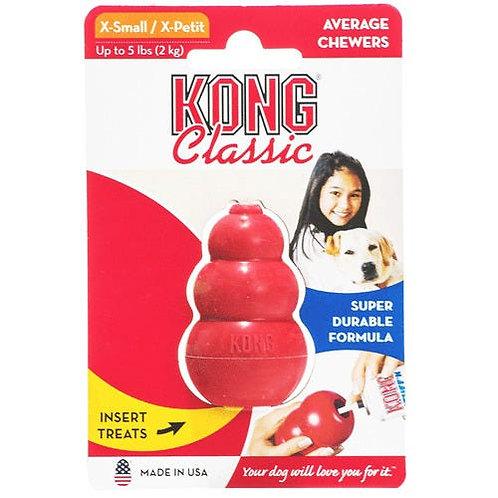 Brinquedo Cães Rechear Kong Classic Small Pequeno