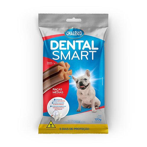 Biscoito Dental Smart Raças Médias Frango 120g Chalesco