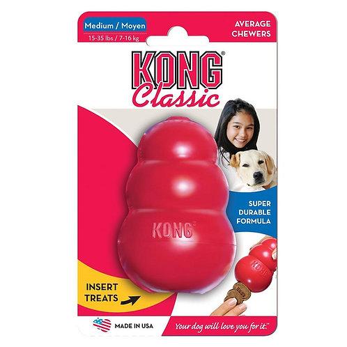 Brinquedo Cães Rechear Kong Classic Medium