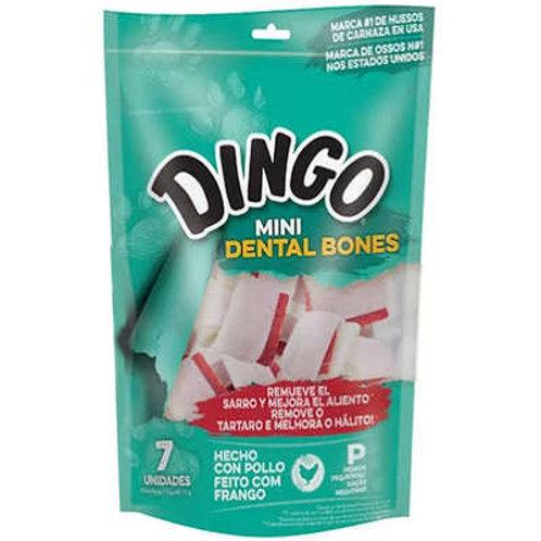 Dingo mini Dental Bone para porte pequeno vem 7 unidades