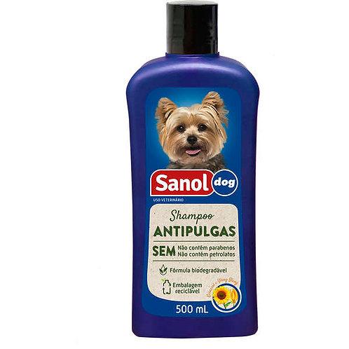 Shampoo Sanol Dog Antipulgas - 500 mL